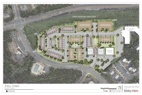 Tall Oaks June 2015 Site Plan Rendering