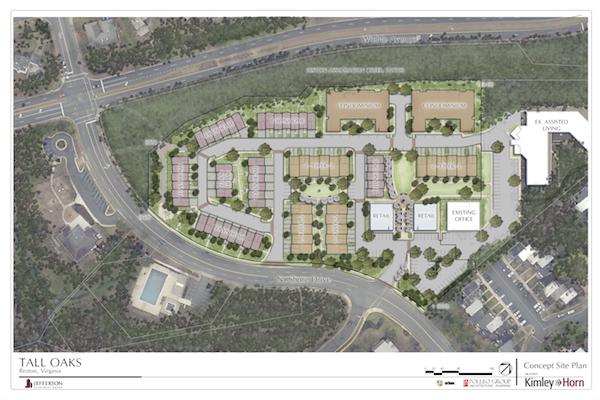 Tall Oaks June 2015 Site Plan Rendering