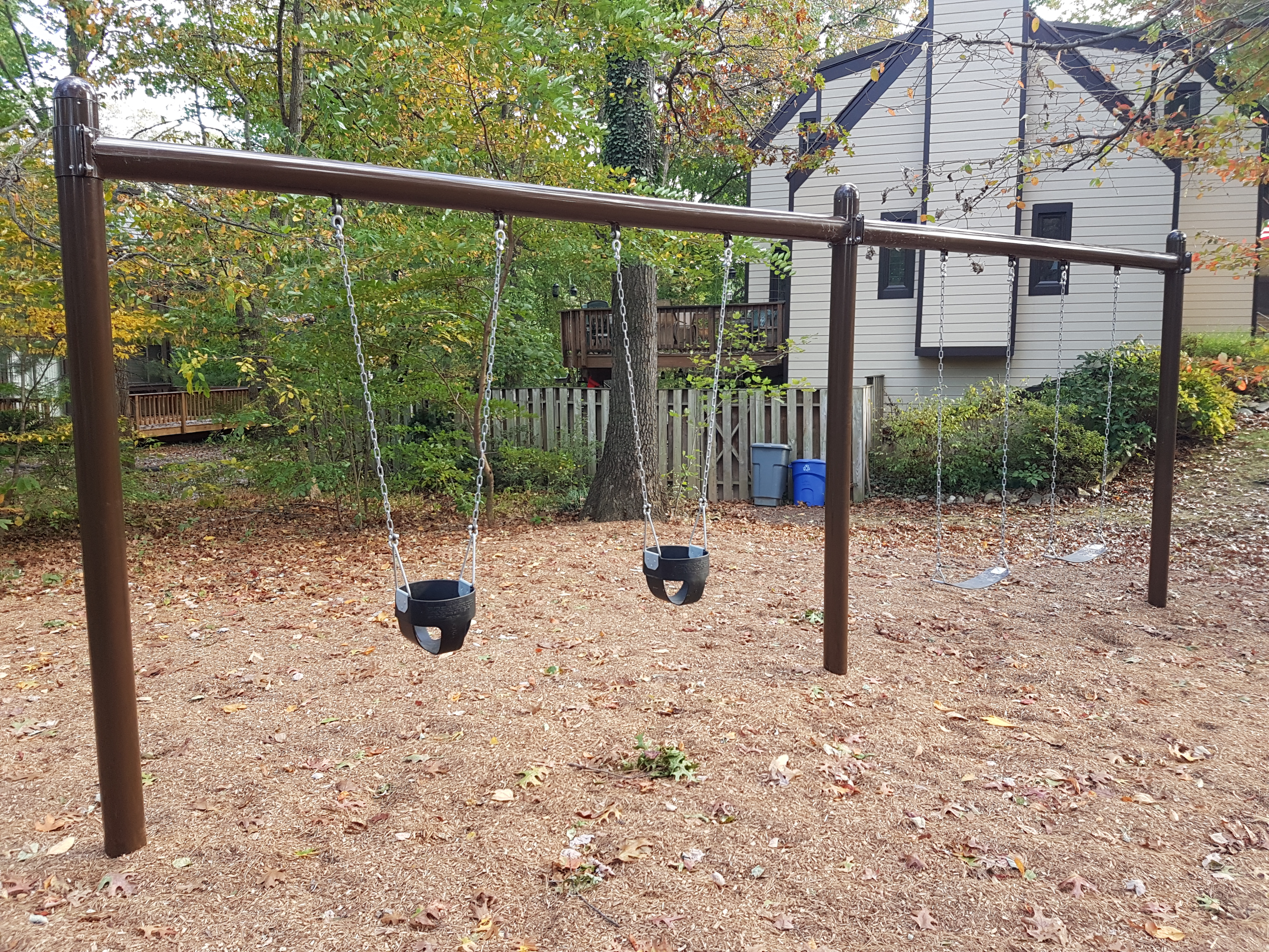 New Tot Lot Swings